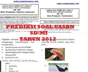 prediksi soal uasbn 2012